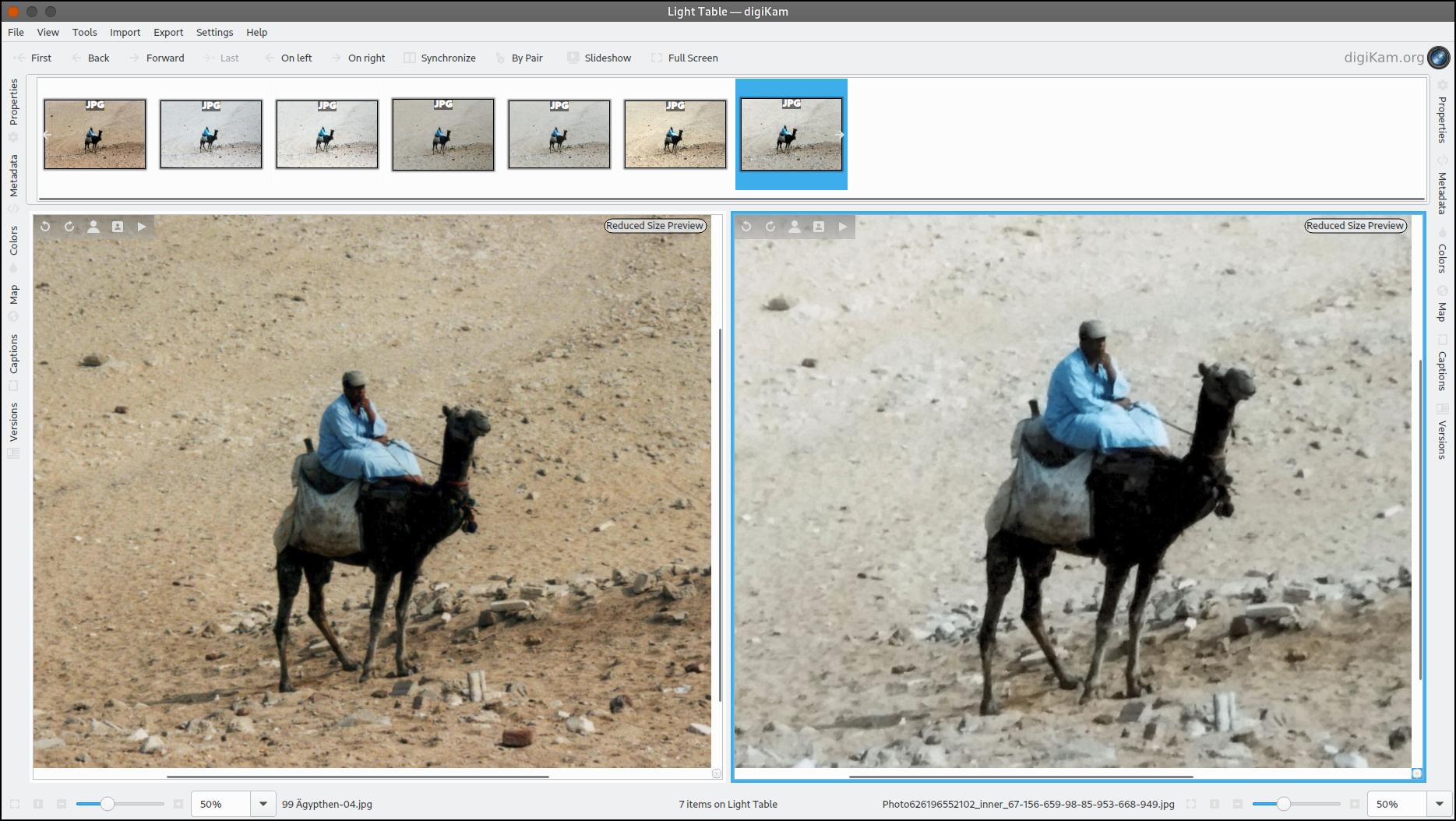 Dokumentenscanner vs Photomyne